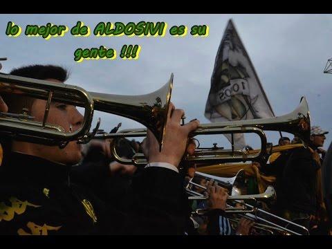 """♫ ♪ ALDOSIVI VS COLON DE SANTA FE ♫ ♪ 30/8/2014"" Barra: La Pesada del Puerto • Club: Aldosivi"