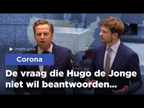 Hugo de Jonge wil het debat niet aan!