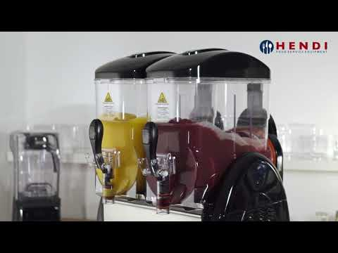 Video Hendi slush machine 2x12L 274224