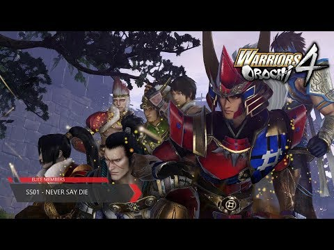 Warriors Orochi 4 - (SS-01) - Never Say Die (Chaotic Difficulty)