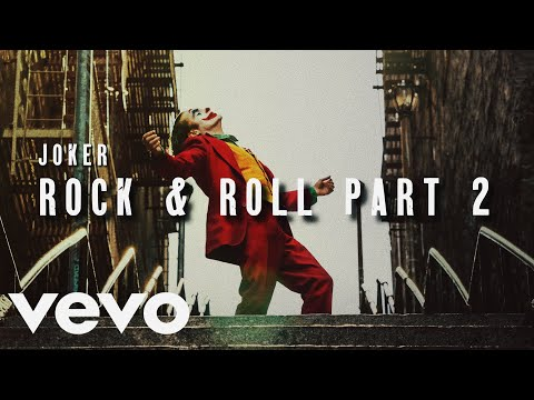 Joker Music Video | Rock & Roll Part 2 - Gary Glitter