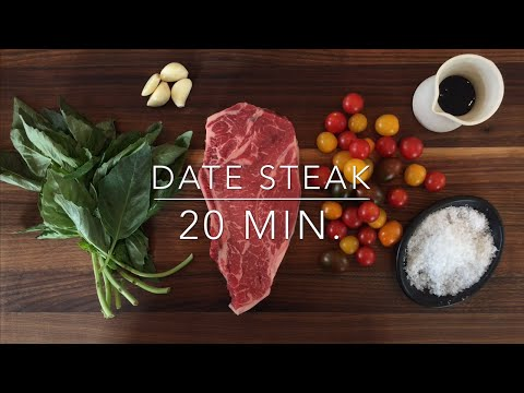 Video Romantic Date Night Steak Dinner for Two Recipe: Ready in 20 Minutes!