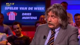 VI 22-08-11 - Johan Derksen wordt weer geconfronteerd met jeugdzonde over tuinkabouter Dries Mertens