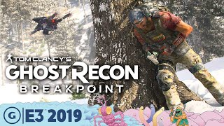 How Ghost Recon: Breakpoint Is A Hardcore Survival Shooter | E3 2019