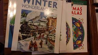 Talking About Creative Haven & Dover Coloring Books And Show & Tell Of My Collection