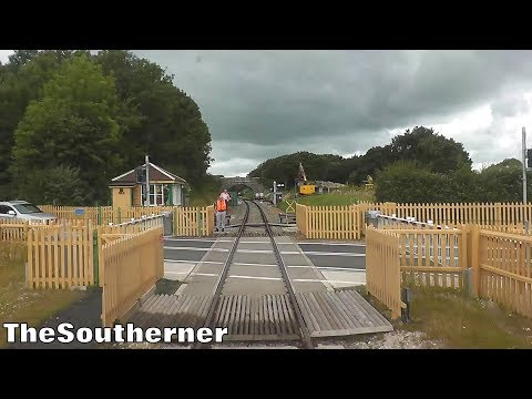 Cab Ride on the Swanage Railway from Corfe Castle to Wareham…