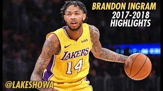Brandon Ingram Official Sophomore Year Highlights 2017-2018 HD
