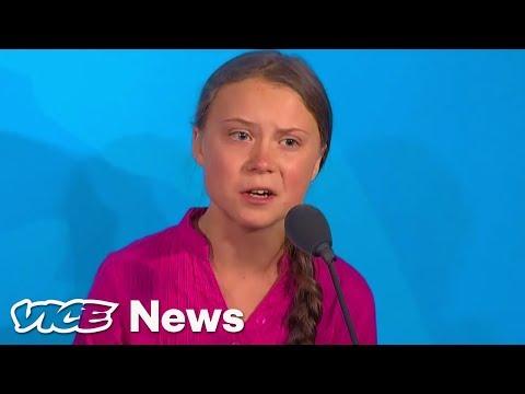 Projev Grety Thunberg v OSN