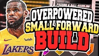 NBA 2K19 BEST SMALL FORWARD PLAYER BUILD!! WILL BE THE ULTIMATE SCORING ARCHETYPES IN NBA2K19!!