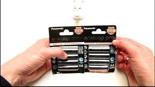 Fake Eneloop AA PRO rechargeable batteries in 2020? (Here is the test)