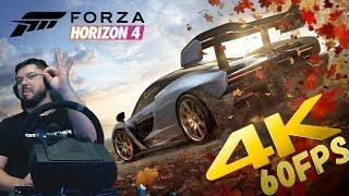 Новая Forza Horizon 4 - ПОТРЯСАЮЩАЯЯ ГРАФИКА на Xbox One X в 4K 60FPS!!! Сравнение с Xbox One