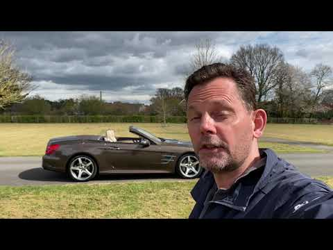 Mercedes SL400 AMG Line Automatic Video