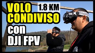 COME VOLARE CONDIVIDENDO IL VIDEO FPV CON DJI FPV SYSTEM | TEST MID RANGE CON IL REKON 5 IN AUDIENCE