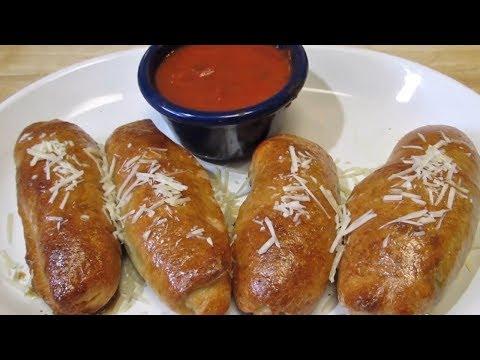 STUFFED PIZZA Jalapeno Poppers!! – Mini Jalapeno Calzones! – Super Bowl Appetizer Recipe