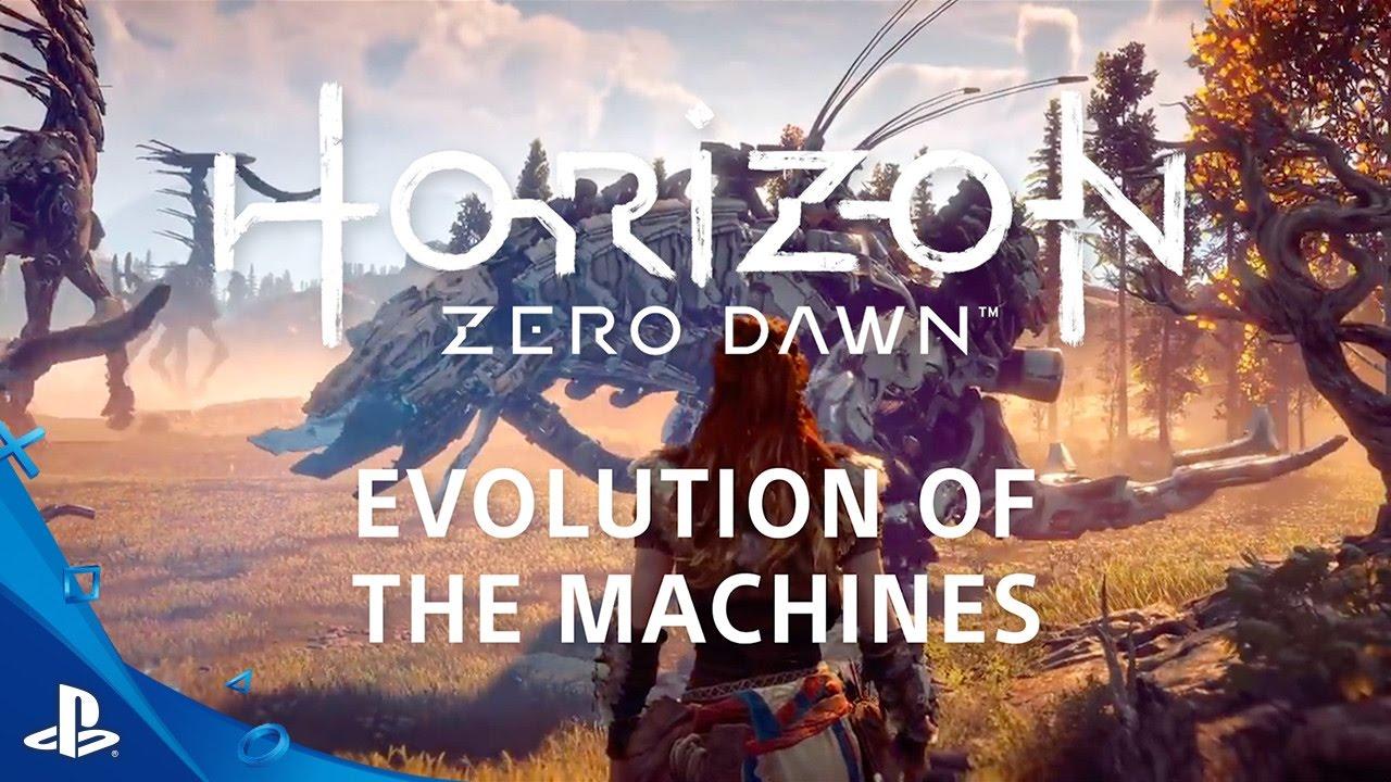 Construyendo las imponentes máquinas de Horizon Zero Dawn