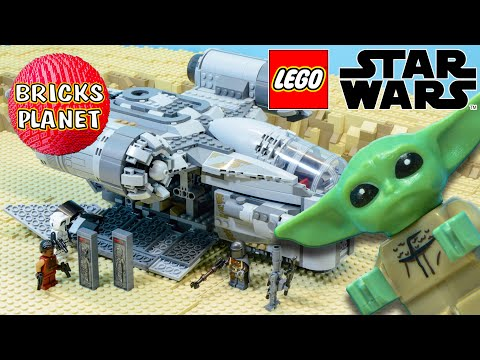 Vidéo LEGO Star Wars 75292 : The Mandalorian - Le vaisseau du chasseur de primes