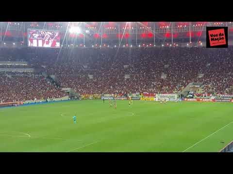 Gol do Bruno Henrique - Flamengo 3x0 Barcelona - Libertadores 2020