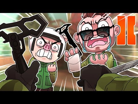 COD Black Ops 2 Funny Moments: Humiliation Rage Montage!