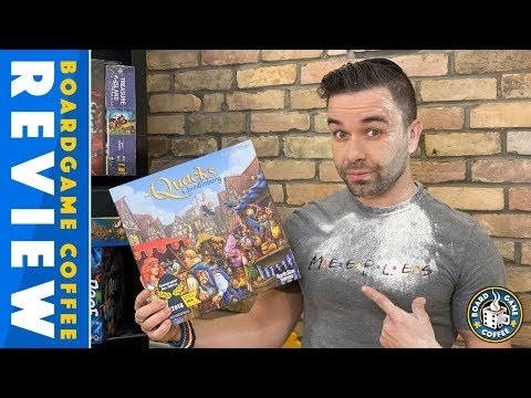 Quacks of Quedlinburg Review in 4K with Board Game Coffee