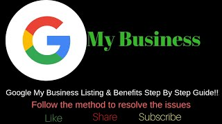 Setup Google My Business- 2019|  Step By Step Guide TO List Your Business On Google My Business|