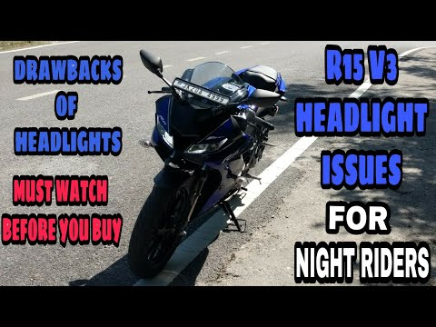 Yamaha R15 V3 Headlight adjustment प्रॉब्लम