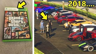 Jogando GTA 5 Online do Xbox 360!!! 5 anos de GTA 5