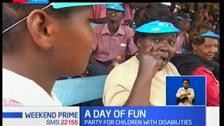 Rotary fetes disabled kids,the children who are living with disabilities had a day of fun in the sun