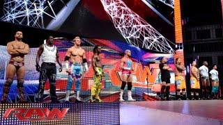 Triple H and Stephanie McMahon address the frustration felt by WWE Superstars: Raw, Sept. 23, 2013