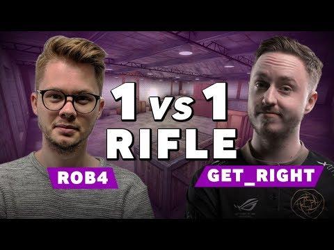NiP GeT_RiGhT vs Betway Rob4 | CSGO 1vs1 Rifle