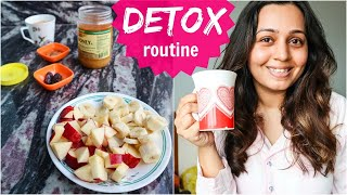 One Day DETOX Diet, Self Care And More | What I Eat In A Day