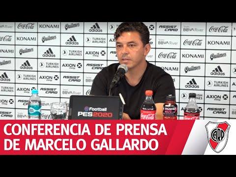 Conferencia de prensa de Marcelo Gallardo - 21/2/2020