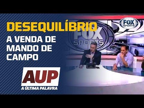 A VENDA DE MANDO DE CAMPO GERA UM DESEQUILÍBRIO NO BRASILEIRO?