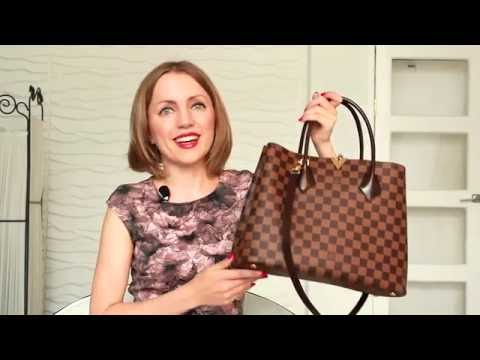 Louis Vuitton Kensington Bag Review / What's in My Bag