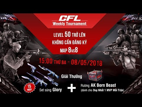 Crossfire Legends l Weekly Tournament ft. AK Born Beast