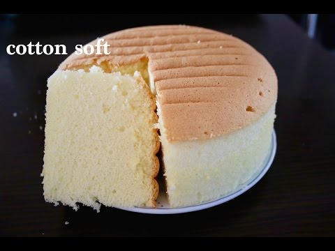 Video cotton soft sponge cake / vanilla sponge cake recipe--Cooking A Dream