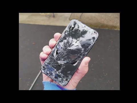 broke the iphone X in the first 10 minutes... (crying)