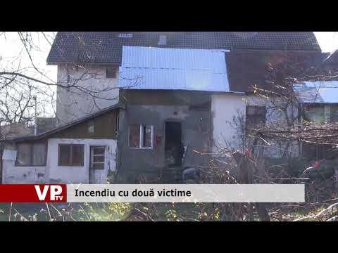 Incendiu cu două victime