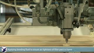 Hepa Filter Production | DELBAG