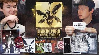 Распаковка-подкаст HYBRID THEORY Super Deluxe Box Set (20th Anniversary Edition) | Linkin Park