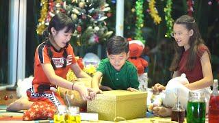 Ho Ho Ho! ของขวัญวันคริสต์มาสจากซานต้า ที่ทำให้น้องแมนต้า น้องวี น้องคีตาต้องเซอร์ไพร์ส!!