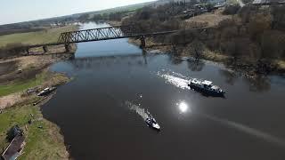 Dji FPV - old railway bridge , 4k 60fps
