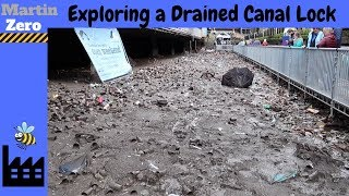 Exploring A Drained Canal Lock