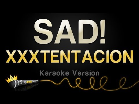 XXXTENTACION - SAD! (Karaoke Version) Mp3