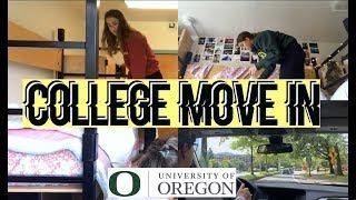 College Move In Vlog!! | University of Oregon | Sara