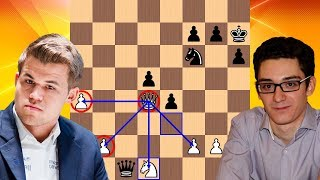 The Queen is King | Magnus Carlsen vs Fabiano Caruana | Norway Chess 2018