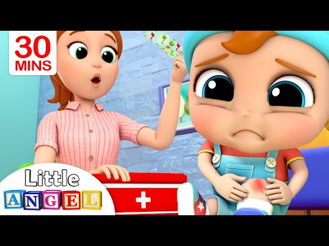 Boo Boo Song 2   +More Little Angel Kids Songs & Nursery Rhymes