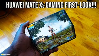 Huawei Mate Xs - Gaming & Speaker First-Look!