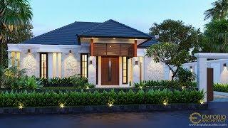 Video Desain Rumah Villa Bali 1 Lantai Bapak Anwar II di  Palangka Raya, Kalimantan Tengah