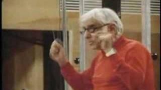 Bernstein rehearses Kiri and Jose for 'Tonight'