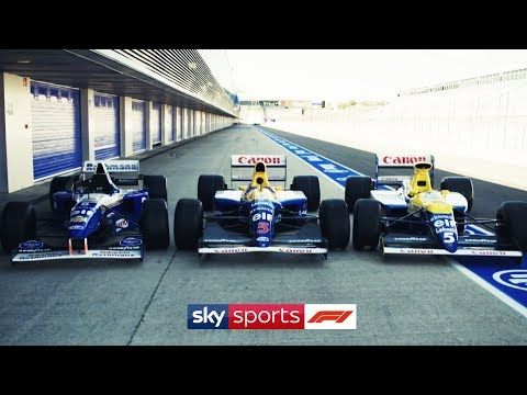 Image: Watch: Karun Chandhok takes three old Williams cars for a spin at the Hungaroring